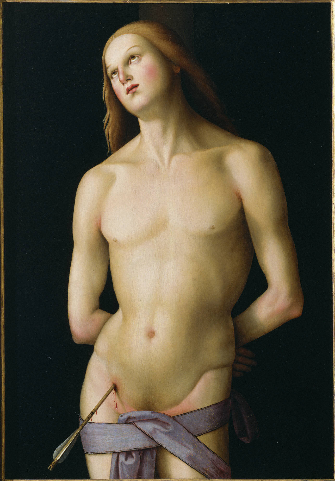 Master of the Greenville Tondo, Italian, active 1500–1510 Saint Sebastian ca. 1500–1510