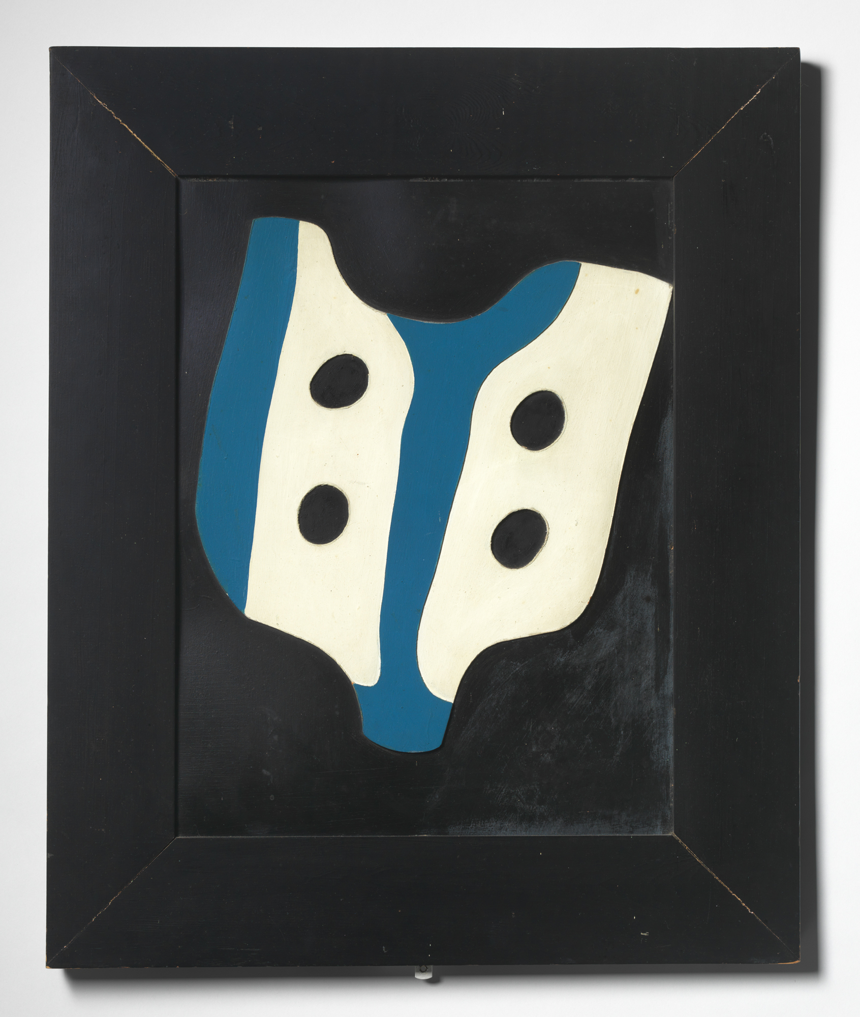 Hans (Jean) Arp, French, born Alsace, 1886–1966: Plastron et cravate (Shirtfront and Necktie), 1927 (2012-1). © 2012, Artists Rights Society (ARS) NY / VG Bild-Kunst / photo: Bruce M. White