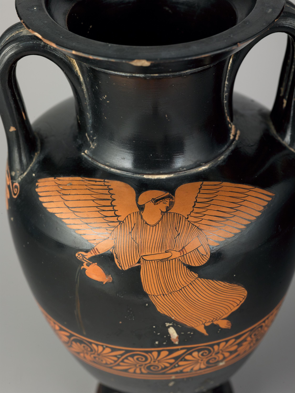 Red-figure Nolan Amphora (detail)