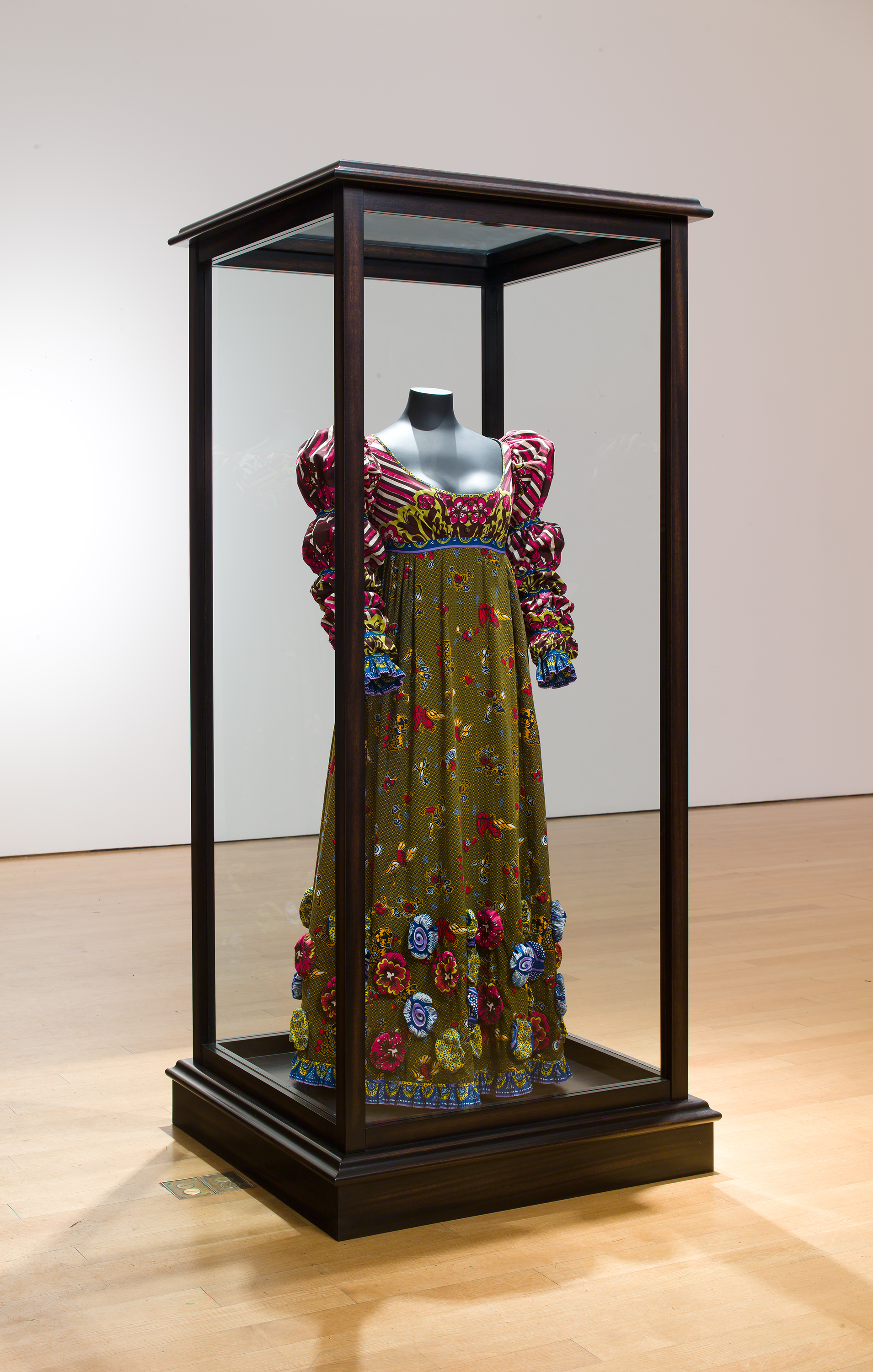 Yinka Shonibare MBE, British, born 1962: Nelson's Jacket. Museum purchase, Fowler McCormick, Class of 1921, Fund (2018-4.1-.2). © Yinka Shonibare MBE. Courtesy James Cohan, New York. Photo: Jason Mandella.