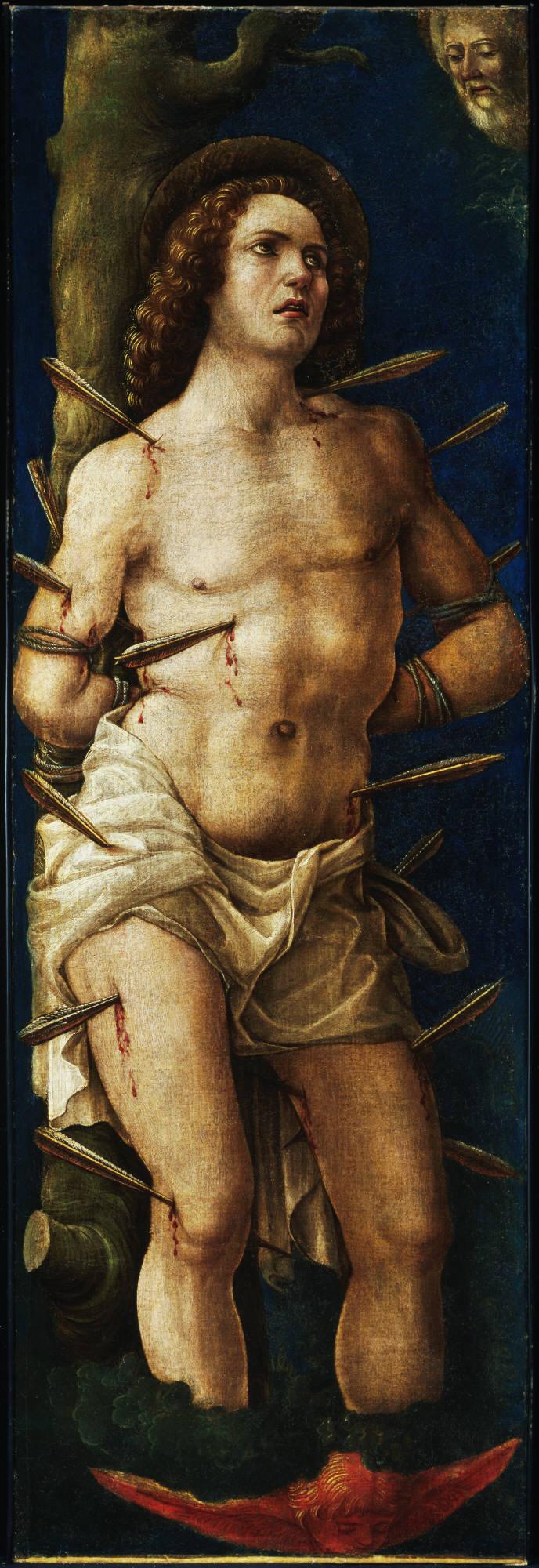 Liberale da Verona, Italian, 1445–1527/29 Saint Sebastian ca. 1480 or later